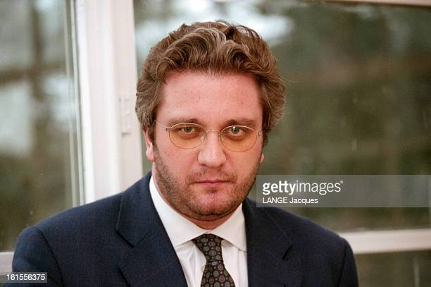 Rendezvous With The Prince Laurent In His Office Of The Royal Institute In Brussels