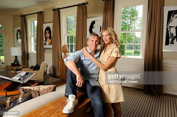 Rendezvous With Tommy Hilfiger At Home Tommy Hilfiger Paris Match receives home on the eve of her marriage stylist posing with his future wife Dee...