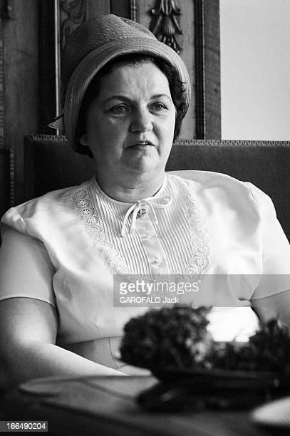 Rendezvous With Vera Eichmann Allemagne 4 mai 1962 Vera EICHMANN est l'épouse d'Adolf Eichmann un haut fonctionnaire allemand sous le Troisième Reich...