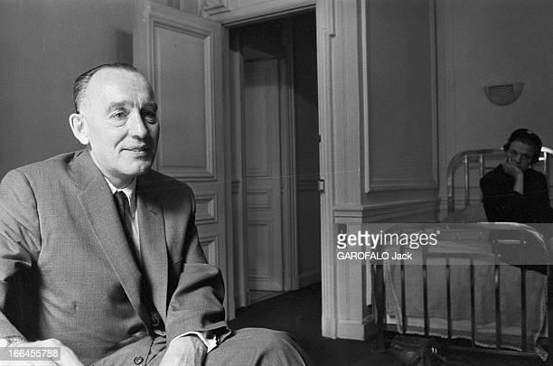 Rendezvous With Vernon Pick Le 5 juin 1957 à Paris en France Vernon PICK le 'roi de l'uranium' devenu milliardaire grâce à sa découverte d'uranium...