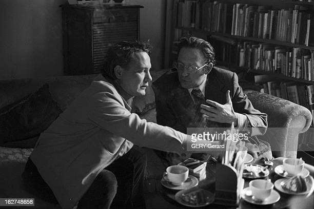 Rendezvous With Vladimir Bukovsky En 1978 à Cambridge en Angleterre l' ancien dissident soviétique Vladimir BOUKOVSKY ou BOUKOVSKI recevant...