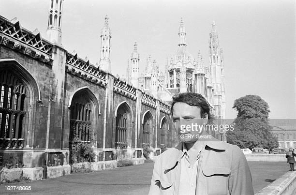 Rendezvous With Vladimir Bukovsky En 1978 à Cambridge en Angleterre l' ancien dissident soviétique Vladimir BOUKOVSKY ou BOUKOVSKI marchant dans la...