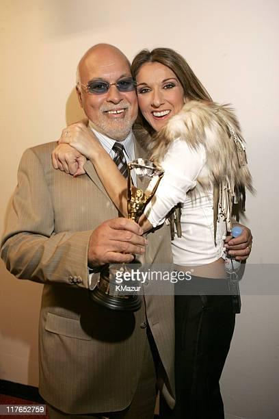 Rene Angelil and Celine Dion winner of the Diamond Award