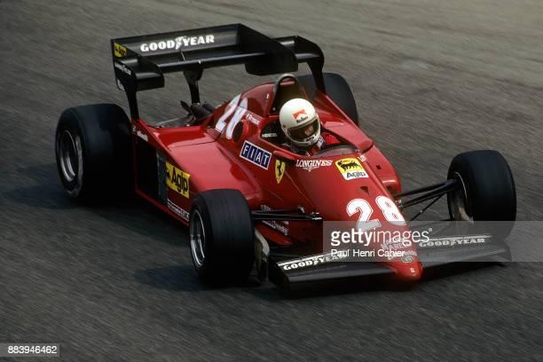 Rene Arnoux, Ferrari 126C3, Grand Prix of Italy, Autodromo Nazionale Monza, 11 September 1983.