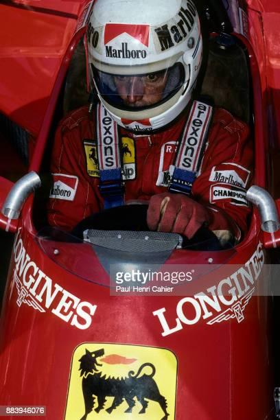 Rene Arnoux, Ferrari 126C4, Grand Prix of Dallas, Fair Park, 08 July 1984.