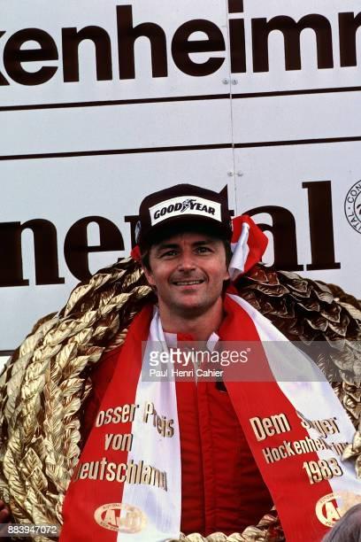 Rene Arnoux, Grand Prix of Germany, Hockenheimring, 07 August 1983.