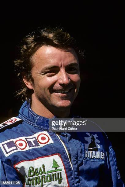 Rene Arnoux, Grand Prix of Portugal, Autodromo do Estoril, 25 September 1988.