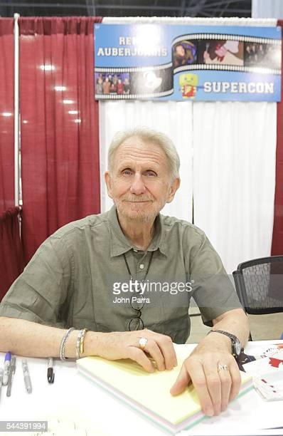 Rene Auberjonois attends Florida Supercon 2016 at Miami Beach Convention Center on July 1 2016 in Miami Florida