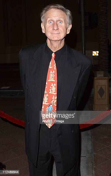 Rene Auberjonois during The Jules Verne Adventure Film Festival and Expositions Arrivals at The Shrine Auditorium in Los Angeles California United...