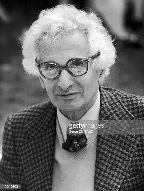 Rene Barjavel In France In 1978.