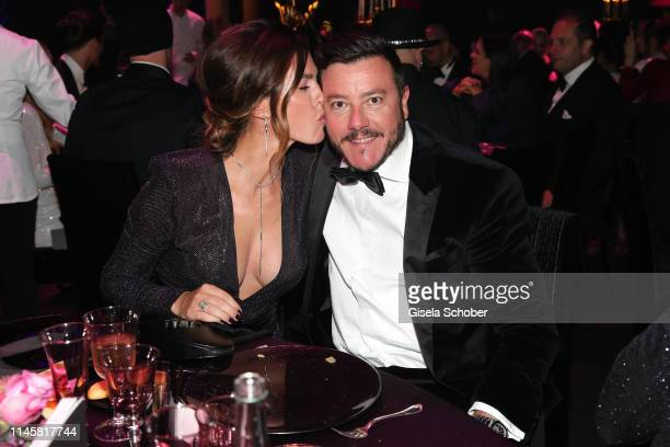 Rene Benko and Nathalie Benko attend the amfAR Cannes Gala 2019 at Hotel du CapEdenRoc on May 23 2019 in Cap d'Antibes France