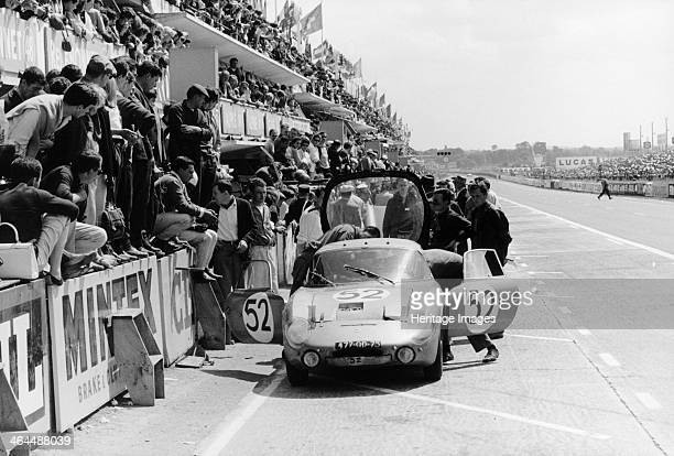 Rene Bonnet LM6 Le Mans 24 Hours France 1963 The car driven by JeanPierre Manzon and Jean Rolland failed to complete the race crashing after 49 laps