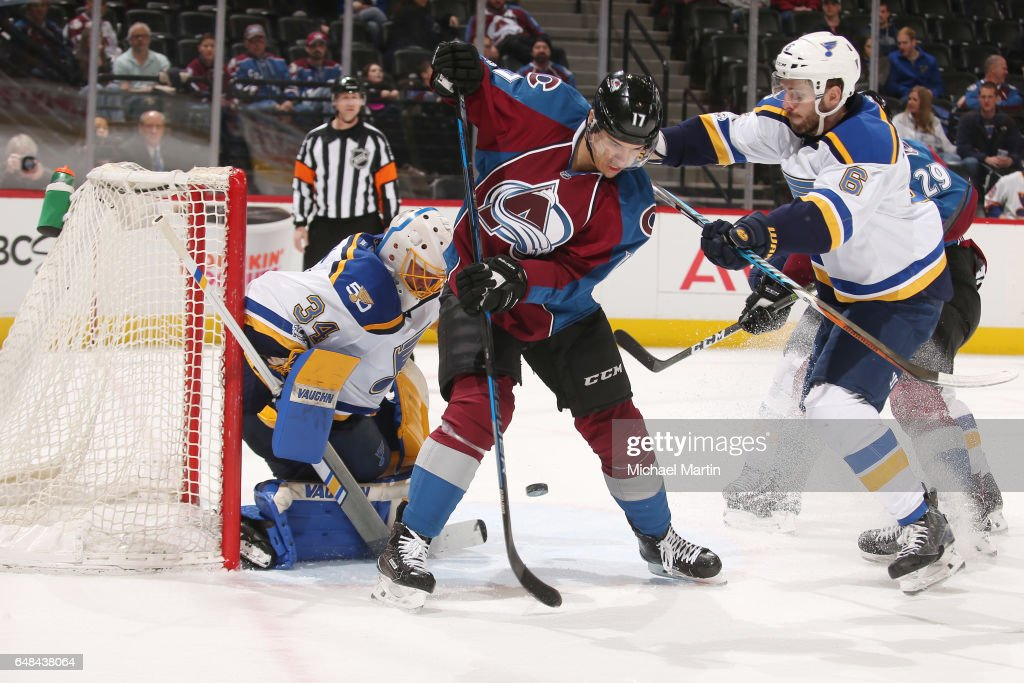 St. Louis Blues v Colorado Avalanche : News Photo