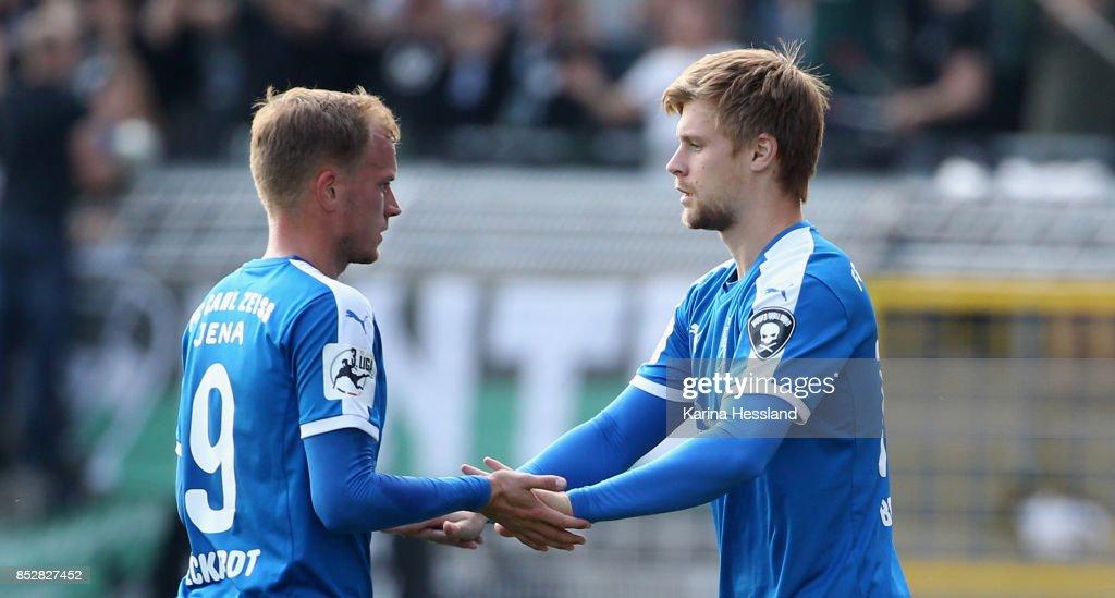 FC Carl Zeiss Jena v SC Preussen Muenster - 3. Liga