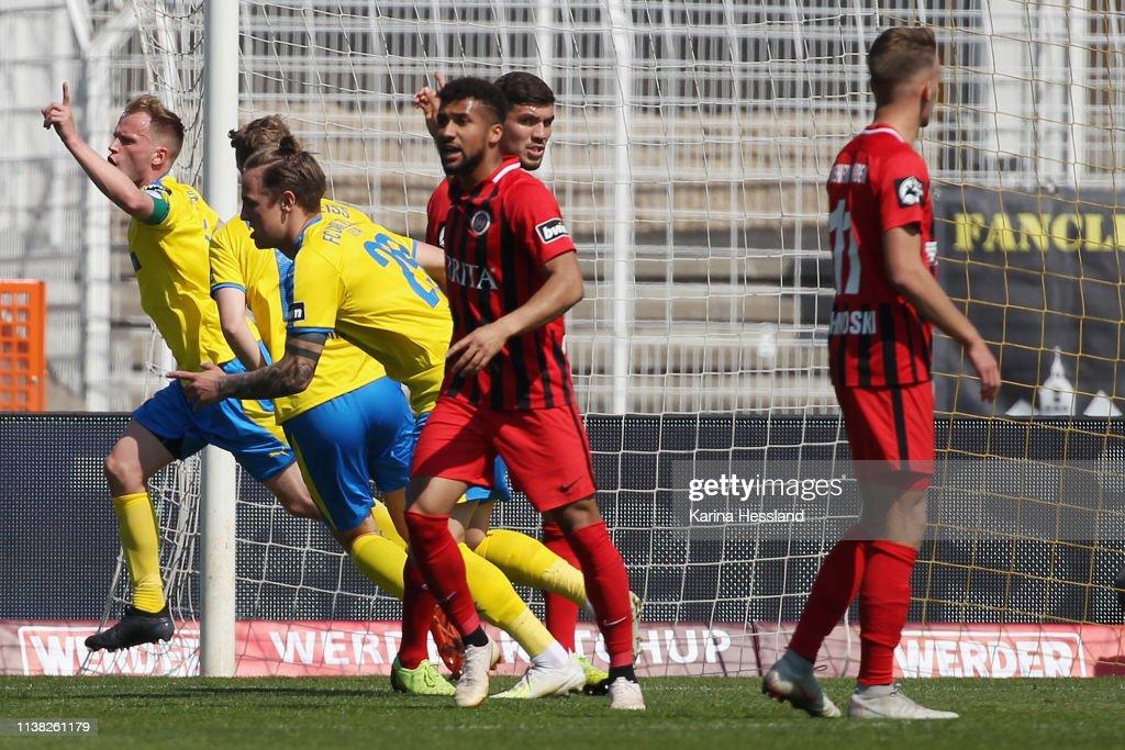DEU: FC Carl Zeiss Jena v SV Wehen Wiesbaden - 3. Liga