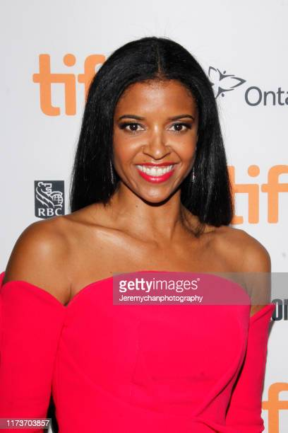 Renée Elise Goldsberry attends the Waves Premiere held at Ryerson Theatre on September 10 2019 in Toronto Canada