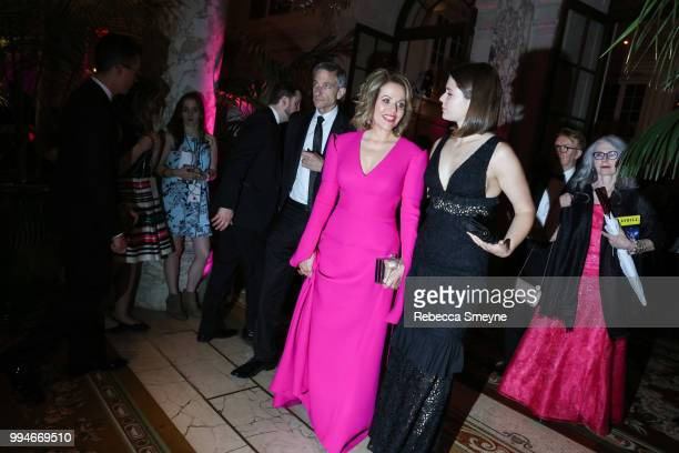 Renée Fleming attends the Tony Awards Gala at the Plaza on June 10 2018 in New York New York