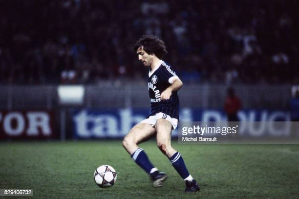 Rene Girard during the Division 1 match between Paris Saint Germain and Bordeaux in Parc des Princes Paris France on 15th May 1982