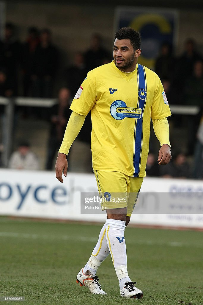 Rene Howe of Torquay United in action during the npower League Two match between Torquay United and Northampton Town at Plainmoor on January 28, 2012 in Torquay, England.