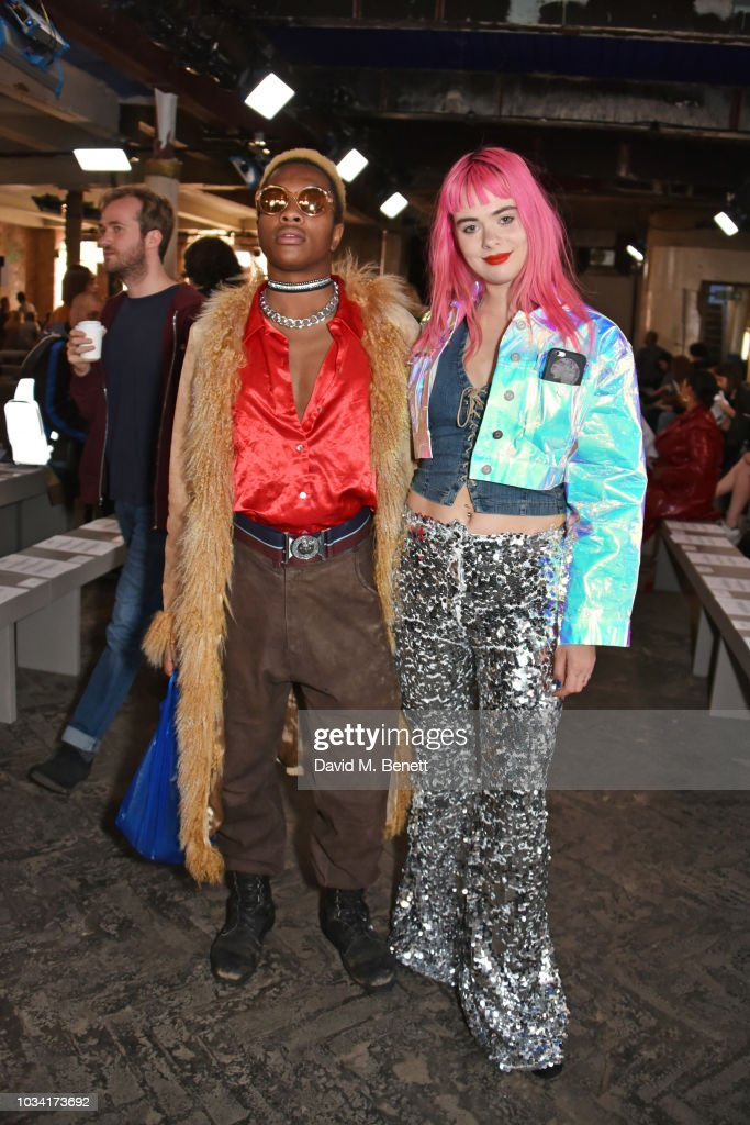 Fashion East - Front Row - LFW September 2018 : News Photo