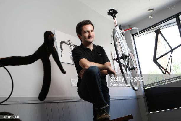 Rene Johnston/Toronto Star June 18 2010 Need main cover photo and turn photos Jullien Paponfounder of Vitess bicycles Rather than trying to fit...