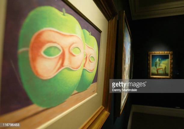 Rene Magritte's Atmostfire during Press Preview for Sotheby's Important Series of Impressionist and Contemporary Sales January 31 2007 at Sotheby's...