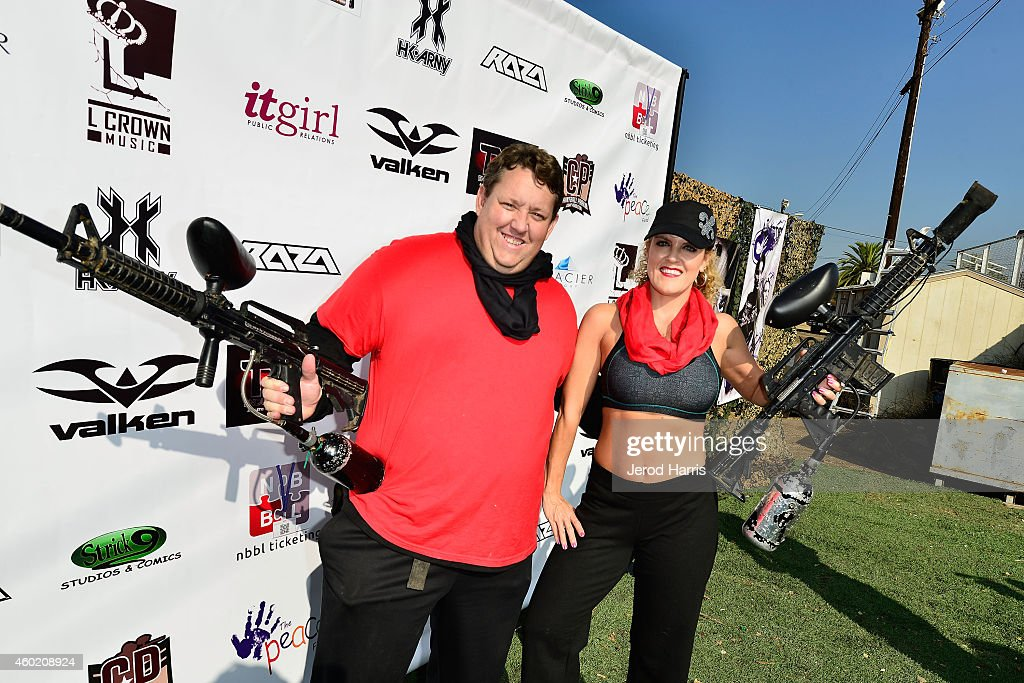 PEACE Fund's 1st Annual Celebrity Paintball Tournament : News Photo