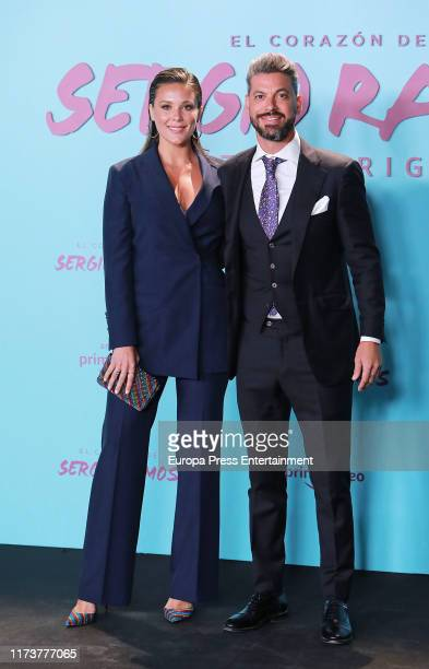 Rene Ramos and Lorena Gomez attend El Corazon de Sergio Ramos premiere at the Reina Sofia museum on September 10 2019 in Madrid Spain
