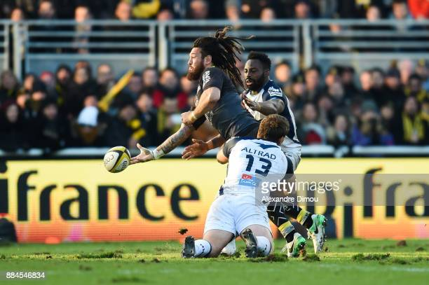 Rene Ranger of La Rochelle during the Top 14 match between La Rochelle and Montpellier on December 2 2017 in La Rochelle France