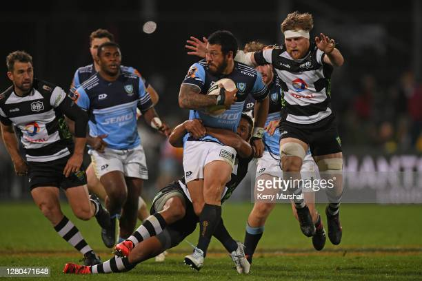 Rene Ranger of Northland in action during the round 6 Mitre 10 Cup and Ranfurly Shield match between Hawkes Bay and Northland at McLean Park on...