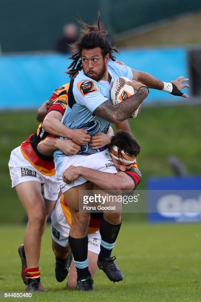 Rene Ranger of Northland in action during the round four Mitre 10 Cup match between Northland and Waikato at Toll Stadium on September 9 2017 in...