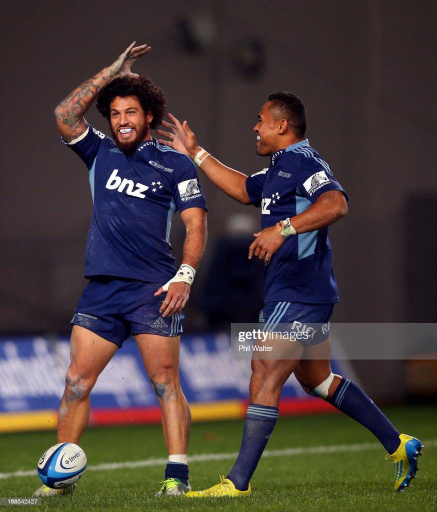 Super Rugby Rd 13 - Blues v Rebels
