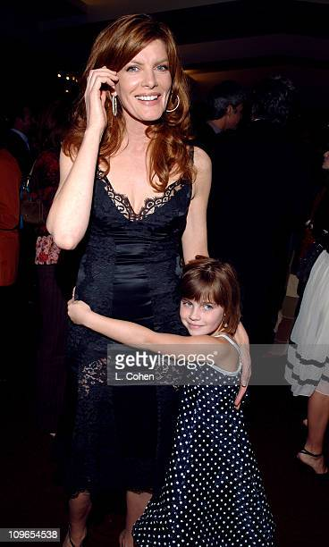 Rene Russo and guest during Two for the Money World Premiere CoPresented By Bodogcom After Party at Samuel Goldwyn Theater in Los Angeles California...