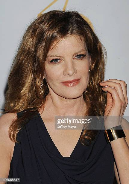Rene Russo arrives at The 25th Anniversary Genesis Awards at the Hyatt Regency Century Plaza on March 19 2011 in Century City California