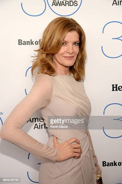 Rene Russo attends the 2015 Film Independent Spirit Awards at Santa Monica Beach on February 21 2015 in Santa Monica California