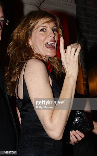 Rene Russo attends the Irish Film Television Awards After Party at the Shelbourne Hotel on February 17 2008 in dublin Ireland