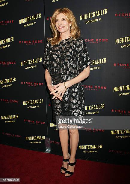 """Rene Russo attends the """"Nightcrawler"""" New York Premiere at AMC Lincoln Square Theater on October 27, 2014 in New York City."""