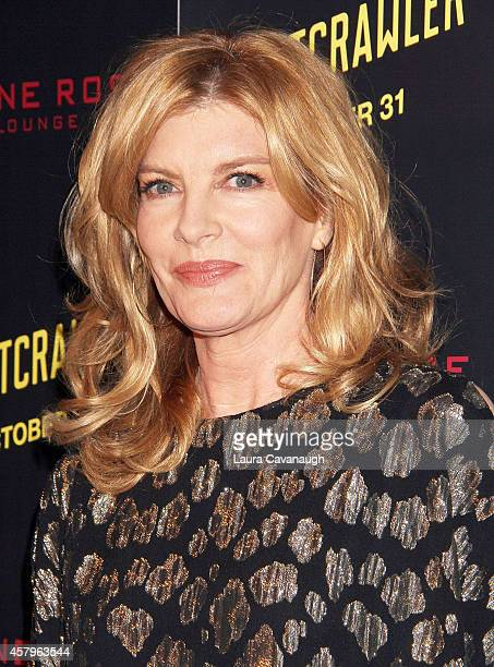 Rene Russo attends the Nightcrawler New York Premiere at AMC Lincoln Square Theater on October 27 2014 in New York City