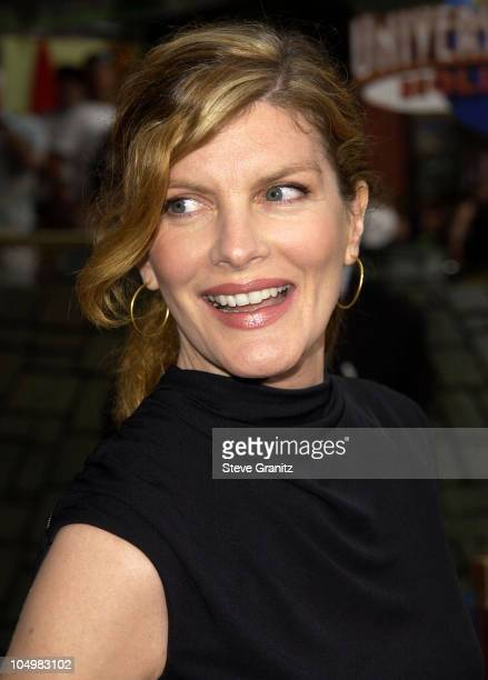 Rene Russo during 'The Bourne Identity' Premiere at Loews Cineplex Universal Studios Cinema in Universal City California United States