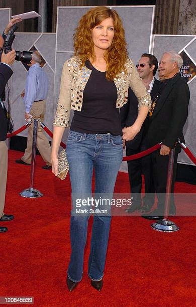 Rene Russo during The Greatest Game Ever Played Los Angeles Premiere Arrivals at El Capitan in Hollywood California United States