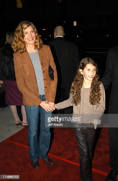 Rene Russo Rose Gilroy during US Presents Evelyn at Academy of Motion Pictures Arts Sciences in Beverly Hills CA United States