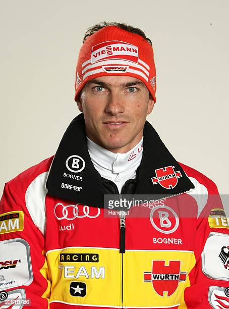 Rene Sommerfeld poses during a photocall at the German athlete Winter kit preview at the adidas Brand Center on October 28 2009 in Herzogenaurach...