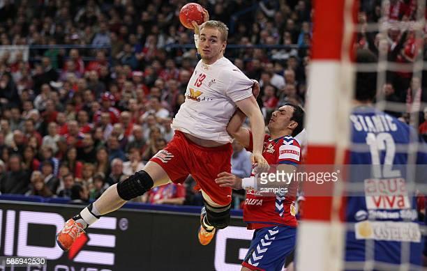 Rene TOFT HANSEN Handball Männer Europameisterschaft Spiel Finale : Serbien - Dänemark Handball european championship gold medal match Serbia -...