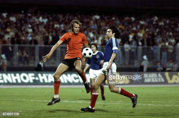 Rene van de Kerkhof of Holland during the European Championship for the 3rd place between Holland and Yugoslavia in Stadium Maksimir Zagreb...
