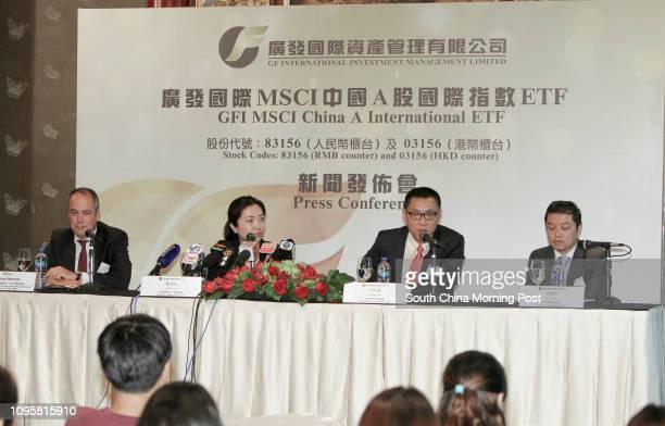 Rene Veerman Managing Director Head of Hong Kong Taiwan Client Coverage MSCI Azra Lan Director Head of ETF GFI Nathan Lin Chief Executive OfficerGFI...