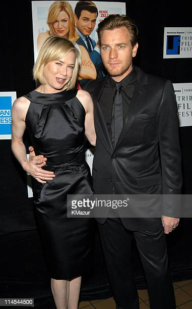 Renée Zellweger and Ewan McGregor during 2003 Tribeca Film Festival 'Down With Love' World Premiere at Tribeca Performing Arts Center 199 Chambers...