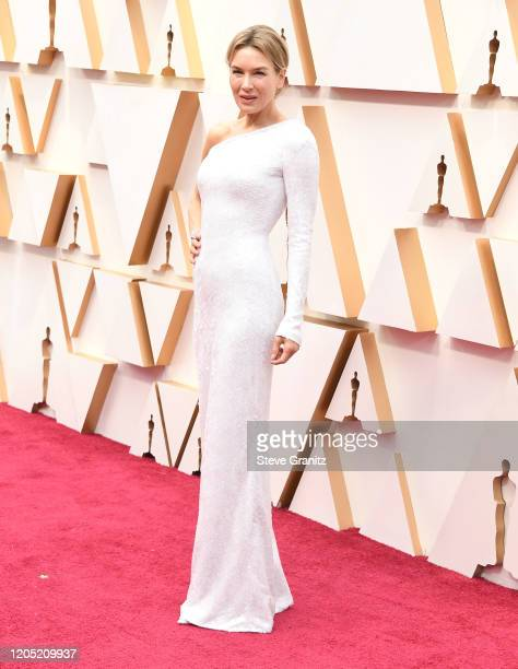 Renée Zellweger arrives at the 92nd Annual Academy Awards at Hollywood and Highland on February 09 2020 in Hollywood California