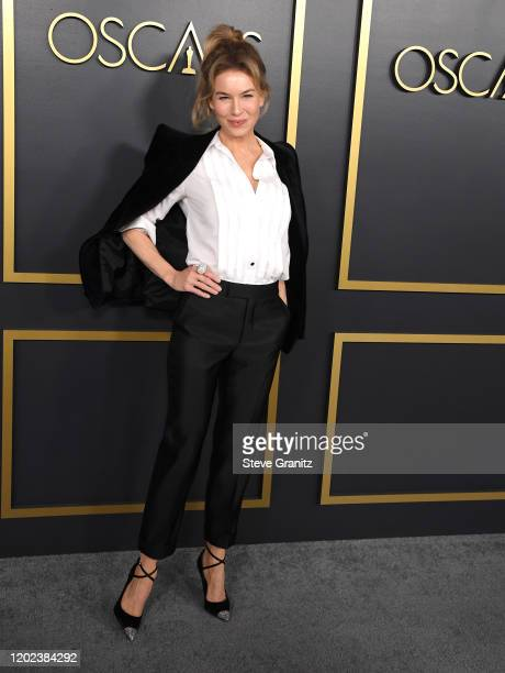 Renée Zellweger arrives at the 92nd Oscars Nominees Luncheon on January 27, 2020 in Hollywood, California.