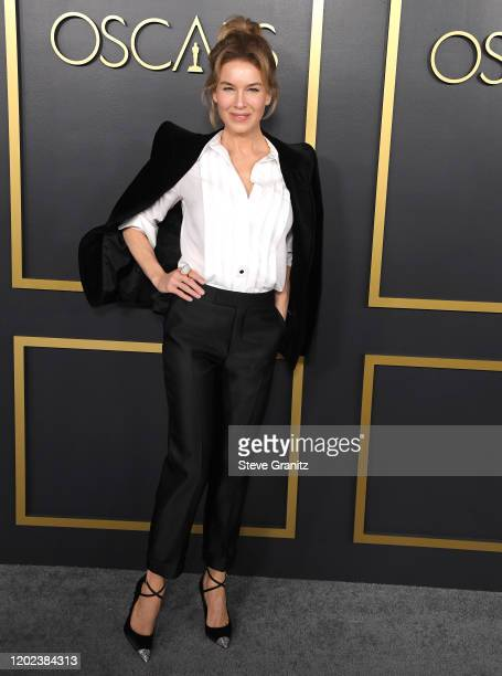 Renée Zellweger arrives at the 92nd Oscars Nominees Luncheon on January 27 2020 in Hollywood California