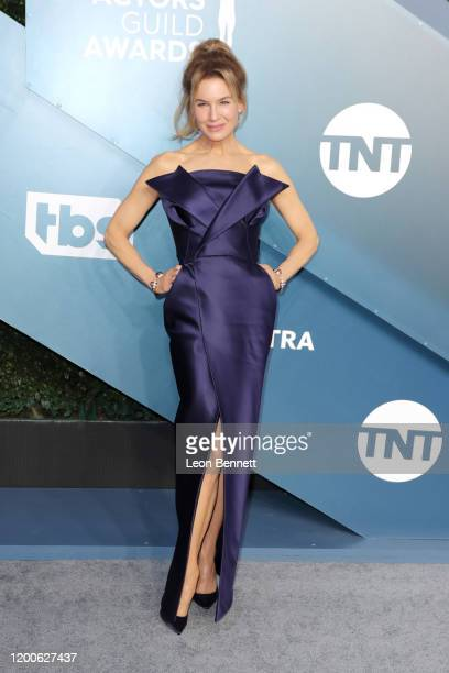 Renée Zellweger attends 26th Annual Screen Actors Guild Awards at The Shrine Auditorium on January 19 2020 in Los Angeles California